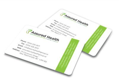Assured Health Business Card 02