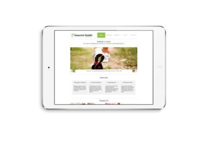 Assured Health Web Design 03