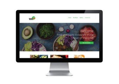 Daddy's Kitchen Web Design 01