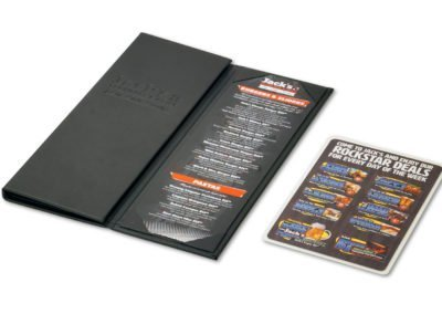 Jack's Taphouse & Grill Menu 01