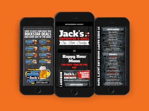 JACK'S TAPHOUSE & GRILL