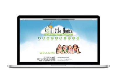Little House Tutoring Web Design 01