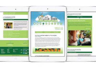 Little House Tutoring Web Design 02