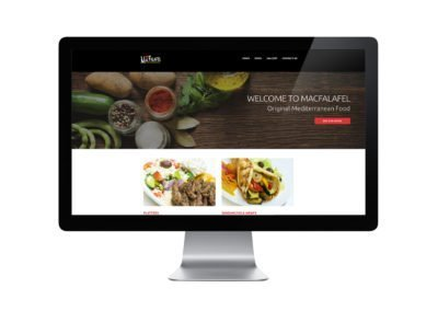 Mac Falafel Web Design 02